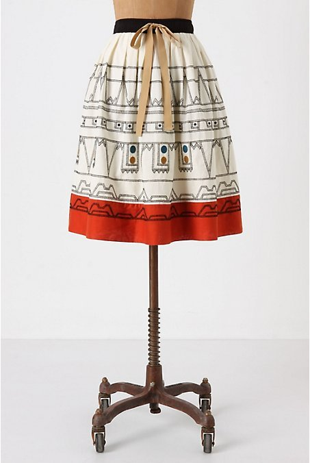 Mendoza Codex Skirt