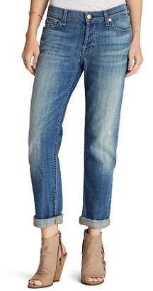 7 For All Mankind Jeans - Josefina Boyfriend in Bright Broken Twill