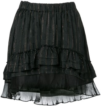 Isabel Marant short ruffled skirt