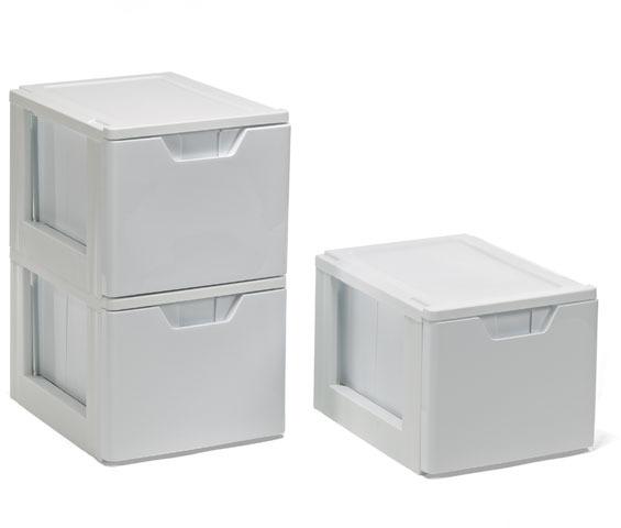 Container Store White Premium Storage & File Drawer