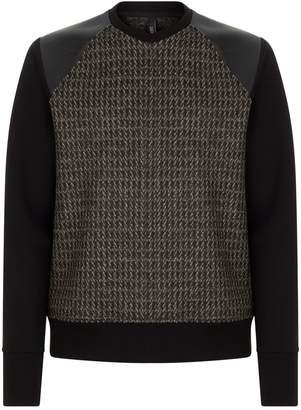 Neil Barrett Tweed Sweater