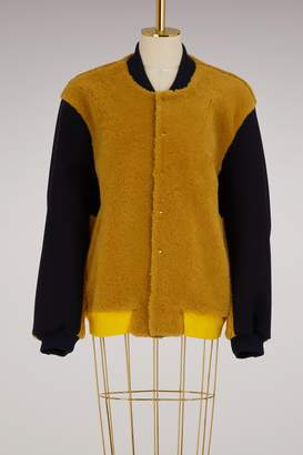 Roseanna Varsity Bomber Jacket
