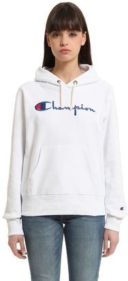 Hooded Cotton Terrycloth Sweatshirt $132 thestylecure.com
