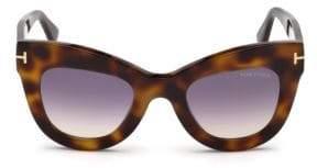 Tom Ford 47MM Karina Cat Eye Sunglasses