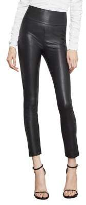 BCBGMAXAZRIA Blossom Faux-Leather Legging