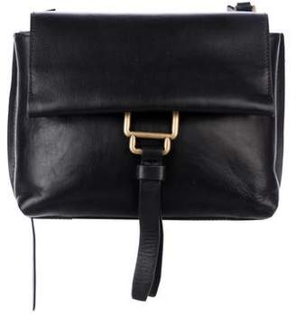 Aquatalia Leather Flap Bag