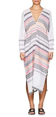 Lemlem Women's Kal Striped Cotton-Blend Caftan