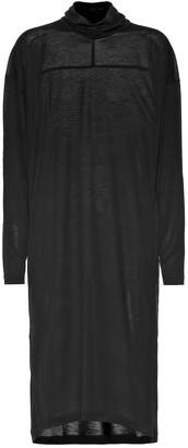 Acne Studios Oversized jersey turtleneck dress