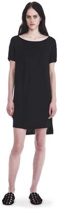 Alexander Wang CLASSIC BOATNECK DRESS WITH POCKET Short Dress