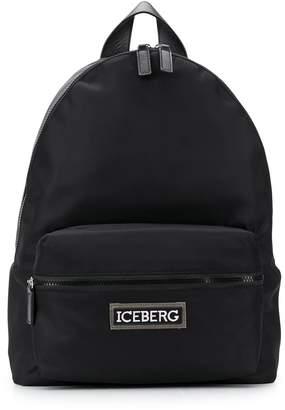 Iceberg branded strap backpack