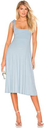 Privacy Please Sable Midi Dress