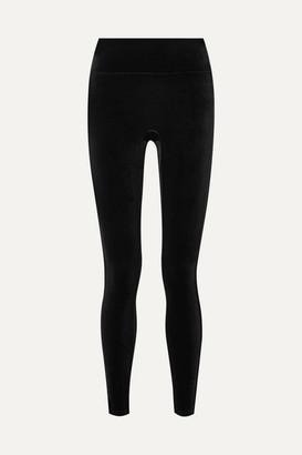 Spanx Velvet Leggings - Black