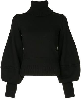 Oscar de la Renta balloon sleeve sweater