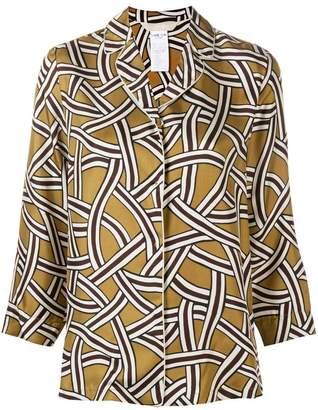 Max Mara 'S printed satin shirt