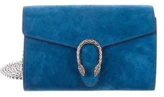 Gucci Suede Dionysus Chain Wallet
