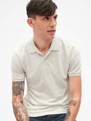 Gap Short Sleeve Pique Polo Shirt in Stretch