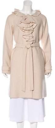Rebecca Taylor Wool Blend Knee-Length Coat