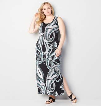 Avenue Paisley Maxi Dress