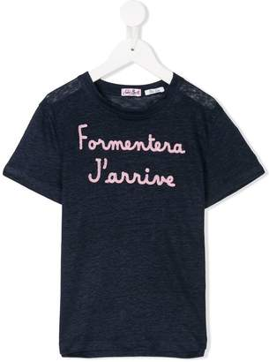 MC2 Saint Barth Kids Formentera J'arrive T-shirt