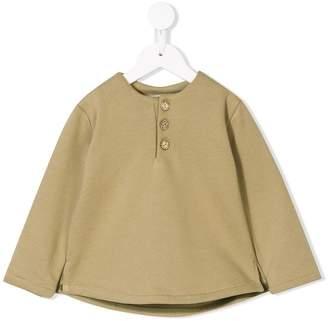 Eshvi Kids button front sweatshirt