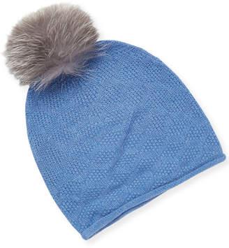 Sofia Cashmere Slouchy Cashmere Hat