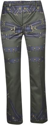 Versace Buckle Print Trousers