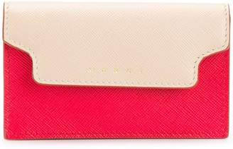 Marni colour block cardholder