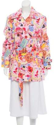 Fiorucci Printed Belted Jacket