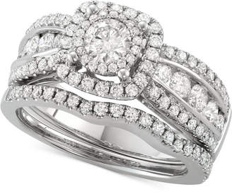 Macy's Diamond Bridal Set (1-5/8 ct. t.w.) in 14k White Gold