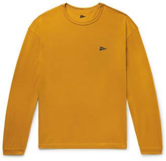Pilgrim Surf + Supply Pilgrim Surf Supply - Logo-Print Wool-Jersey T-Shirt - Men - Saffron