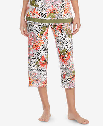 Ellen Tracy Floral-Print Pajama Pants