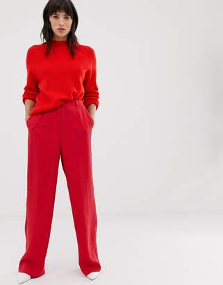 Selected Wide Leg Trouser