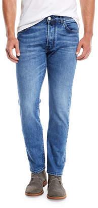 Jacob Cohen Men's Light-Wash Straight-Leg Jeans