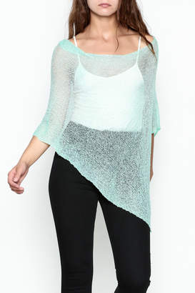 Made on Earth Light Knit Poncho