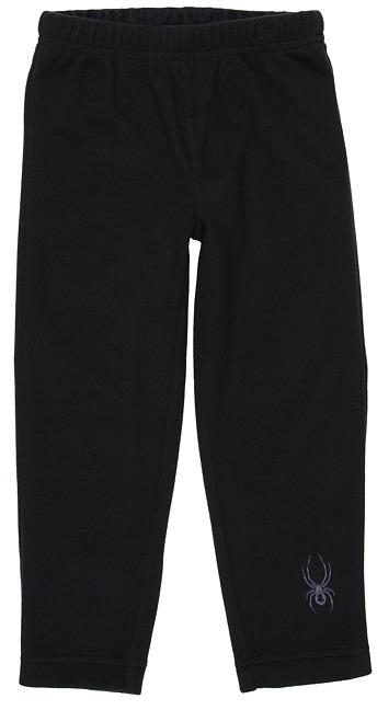 Spyder Mini Momentum Fleece Pant (Toddler/Little Kids) (Black) - Apparel