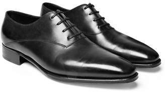 John Lobb Prestige Becketts Leather Oxford Shoes - Black
