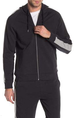 Threads 4 Thought Cosmo Stripe Sleeve Zip Hoodie