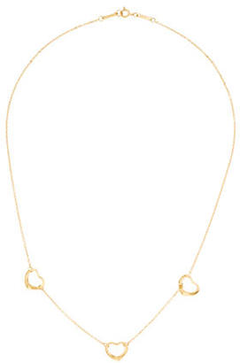 Tiffany & Co. 18K Open Heart Necklace $495 thestylecure.com