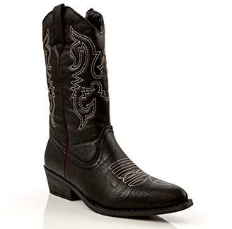 Charles Albert Women's Western Style Embroidered Cowboy Boot in Size: 6