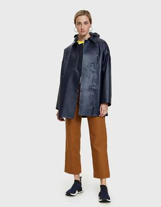 A.P.C. Brown Oilskin Raincoat