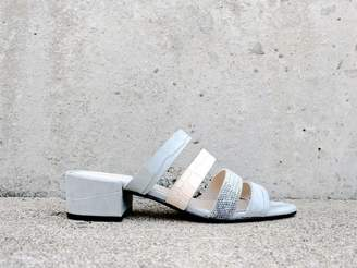 Freda Salvador IRENE Multi Strap Mid Heel Sandal