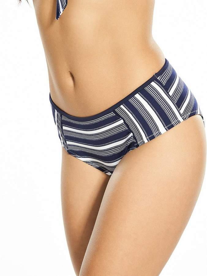 Boux Avenue Boston Midi Bikini Bottom - Blue