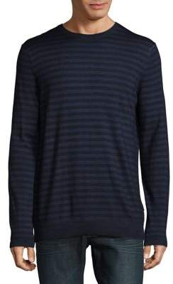 Strellson Larson Stripe Wool Sweater