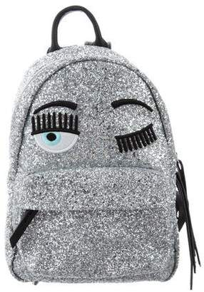 Chiara Ferragni Small Glitter Backpack