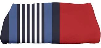 "Simply Daisy 28"" x 58"" Beach Shack Stripe Print Bath Towel"