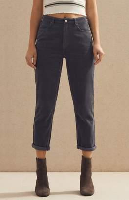 PacSun Asphalt Corduroy Mom Jeans