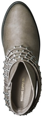 Mossimo Women's Karis Ankle Boot with Studded Wrapping - Sand