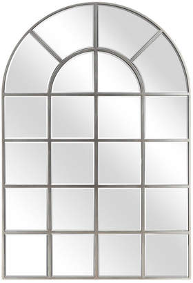 """Empire Art Direct Solid Wood Base Covered with Beveled Arch Window Mirror - 30"""" x 40"""""""