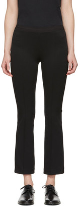 Helmut Lang Black Flared Leggings