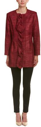 Sara Campbell Silk Woven Jacket